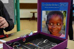 Ein-Dollar-Brille